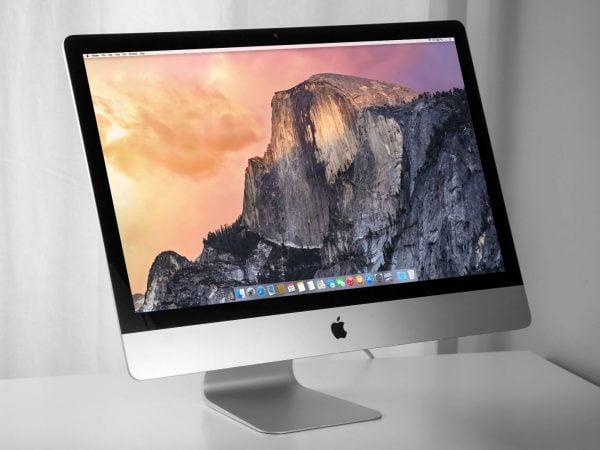 2013 Apple iMac 27 inch Slim – Intel Quad Core i7 3.5GHz. 32GB. 1TB FUSION. GTX780M 4GB. Refurbished. Grade A.