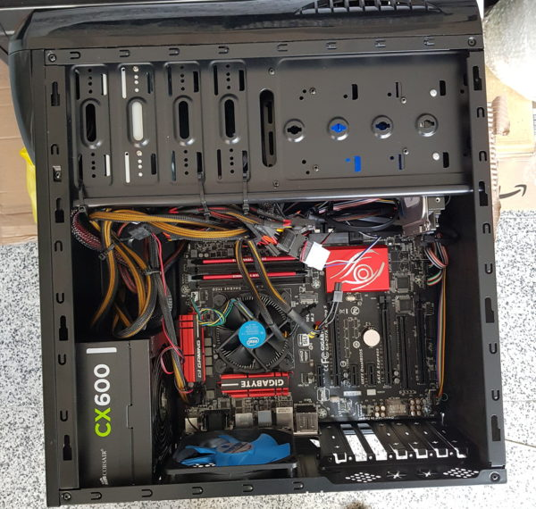 Desktop PC. Intel Core i7-4790K. Gigabyte GA-Z97X-Gaming 5. 16GB. 1TB.