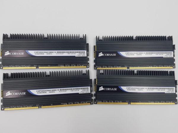 Corsair DOMINATOR 32GB DDR3 Quad Channel (4x8GB) Memory Kit