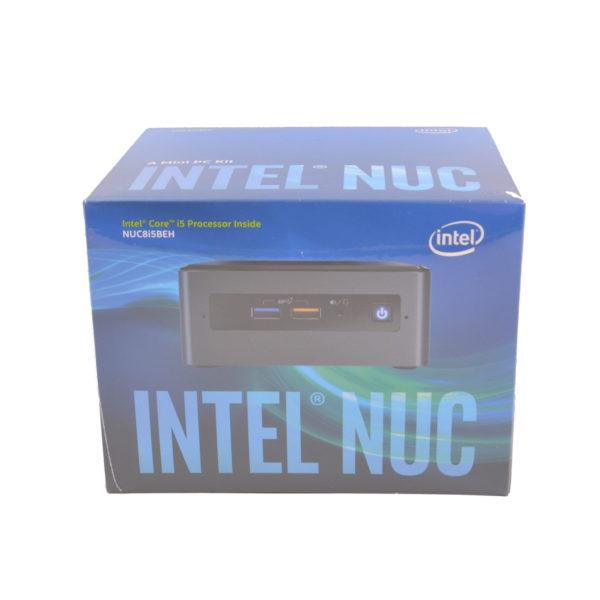 Intel Quad Core 8th Gen i5 Tall NUC Barebone Mini PC Kit. NUC8I5BEH