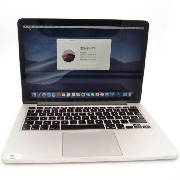 2015 Apple MacBook Pro Retina 13 inch – Intel Core i5 2.7 GHz. 8 GB. 128GB. MF839B/A. Refurbished