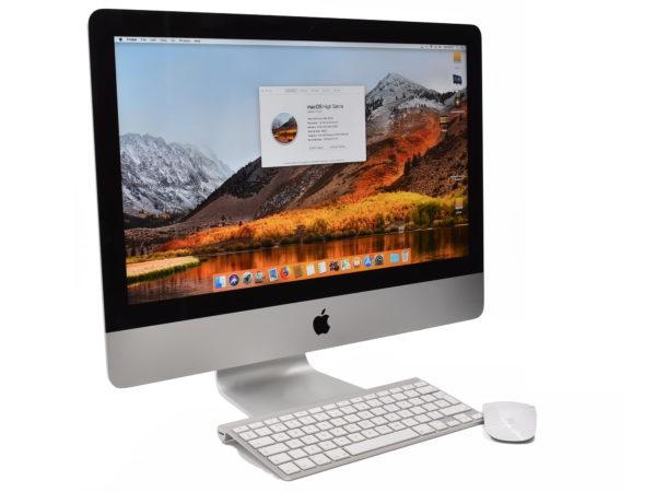 Apple iMac 21.5 inch Slim – Intel  Core i5 1.4GHz. 8GB.