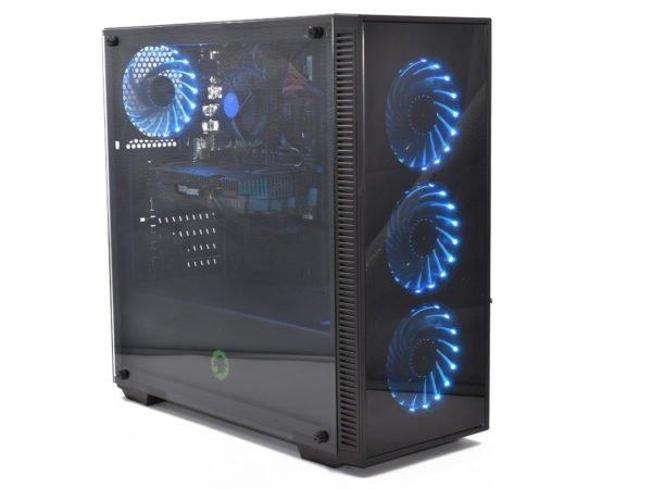 Gaming RGB Tempered glass PC. Intel i5 -9400F. 16GB 3000. RTX2060 6GB. 256GB SSD. 1TB HDD