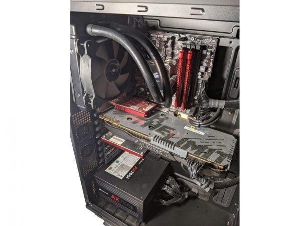 Water Cooled Gaming PC. i7-4790K. 16GB. 512GB SSD. 8TB. GTX980TI 6GB