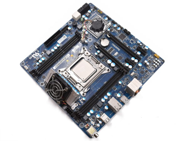 Alienware Aurora R4 motherboard and Intel i7-4930K CPU.