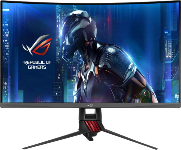 Asus ROG Strix XG32VQ Curved Gaming Monitor. 32 inch WQHD (2560×1440), 144Hz, Aura Sync, FreeSync