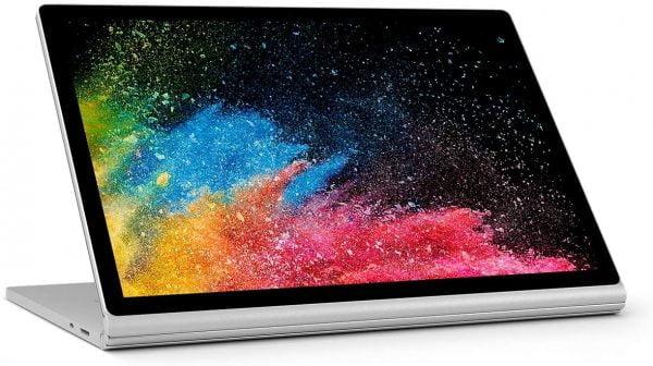 Microsoft Surface Book 2. 15″. Intel i7-8650u. 16GB. 512GB. GTX1060 6GB
