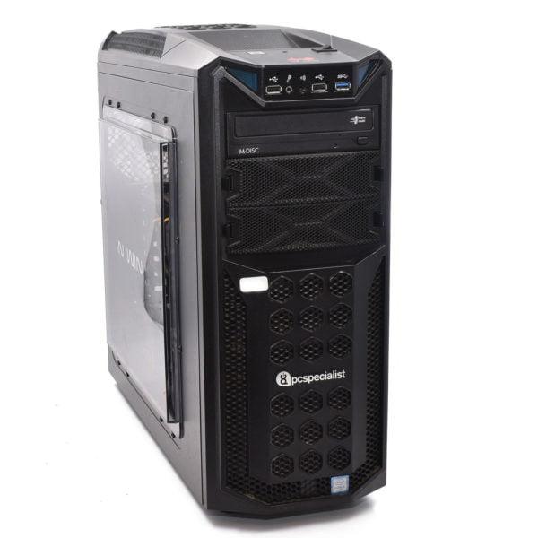 PC Specialist Gaming PC. Intel i5-6400. 16GB DDR3. 256GB SSD. 1TB HDD. GTX970 4GB
