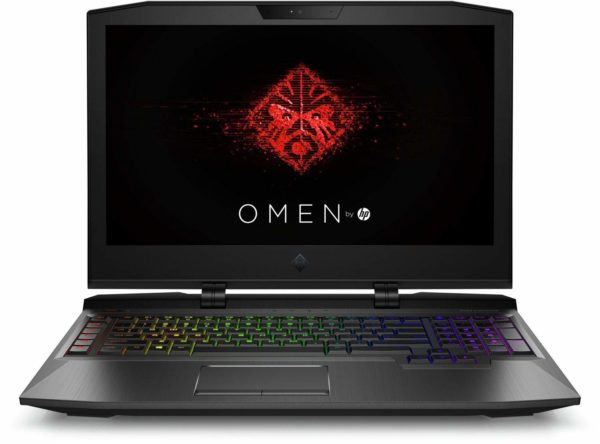 HP OMEN X 17.3″ Gaming Laptop 17-ap0xx. Intel i7-7820HK. 16GB. SSD+HDD. GTX1070 8GB.