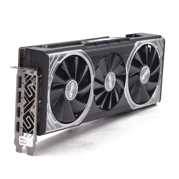 AMD RADEON RX VEGA 64 NITRO+ 8GB HBM2 PCI-EXPRESS GRAPHICS CARD