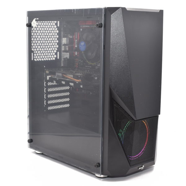 Gaming Desktop PC. Intel Core i5-6600K. 256GB SSD. 8GB DDR4. Nvidia GTX 1050Ti 4GB